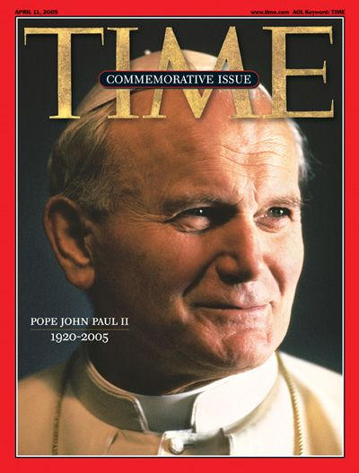 Image result for pope john paul ii dies