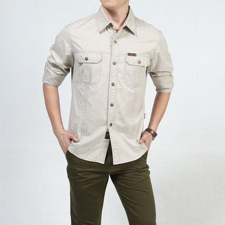 Дешевое Новый 2014 удобрений увеличилось чистый цвет длинный рукав рубашки для мужчин, Купить Качество рубашки домашние муж. непосредственно из китайских фирмах-поставщиках: