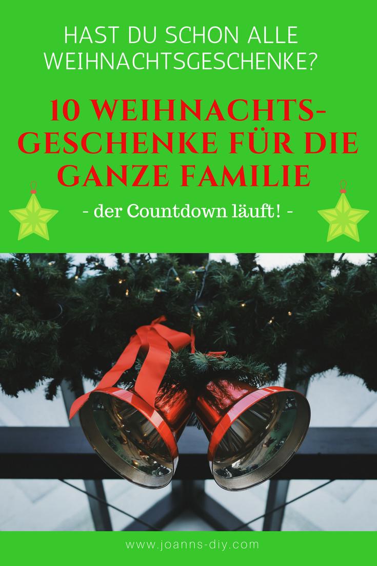 Die ultimativen Weihnachtsgeschenke für die ganze Familie | Xmas