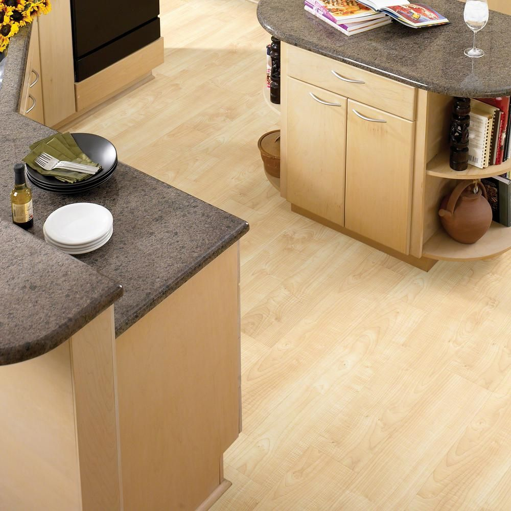 Shaw Gallantry Straw 6 in. x 36 in. Resilient Vinyl Plank