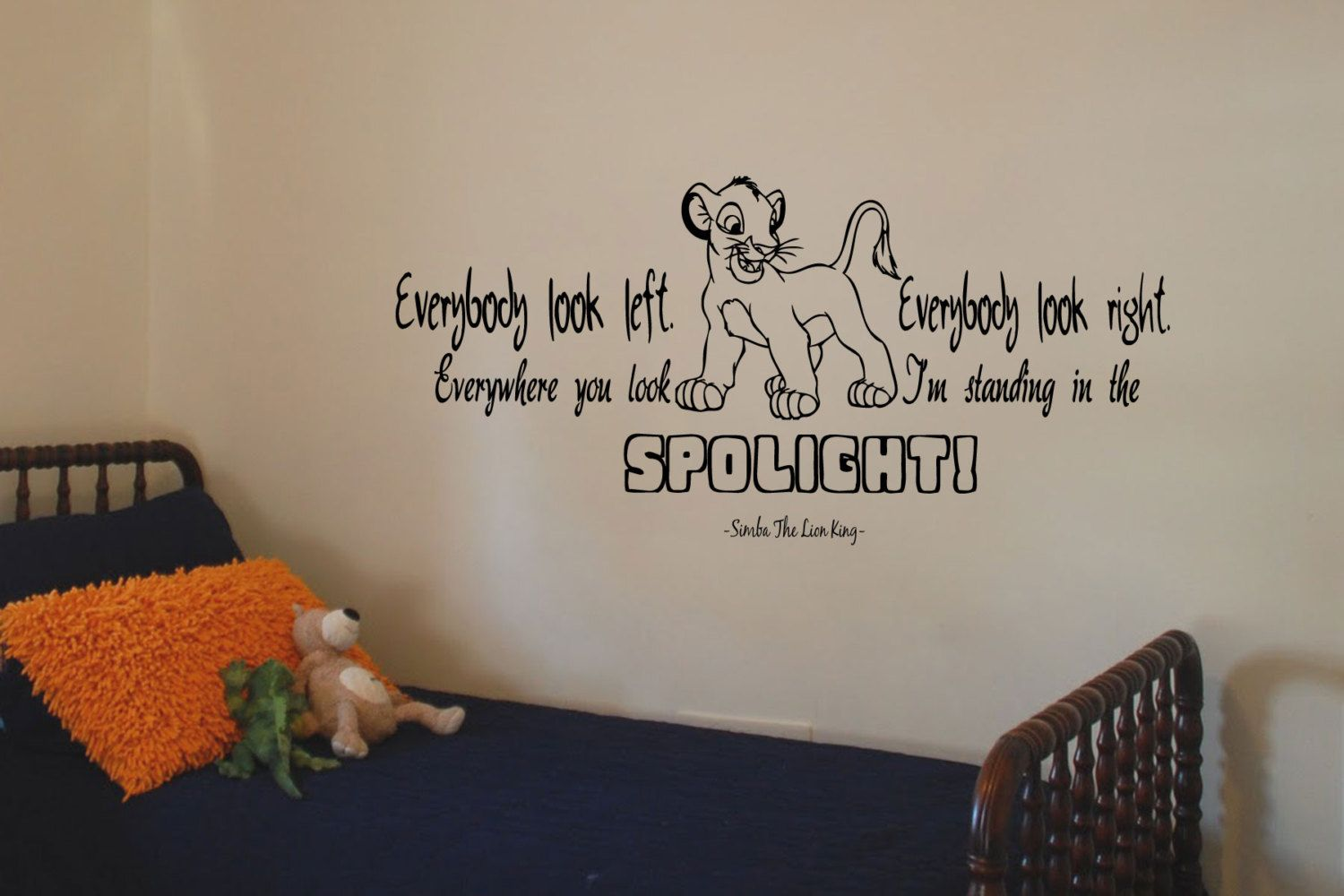 Everybody Look Left Everybody Look Right Everywhere You Look Im - Lion king nursery wall decals