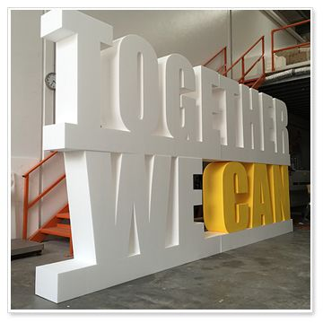 free-stand-foam-letters-stack-up