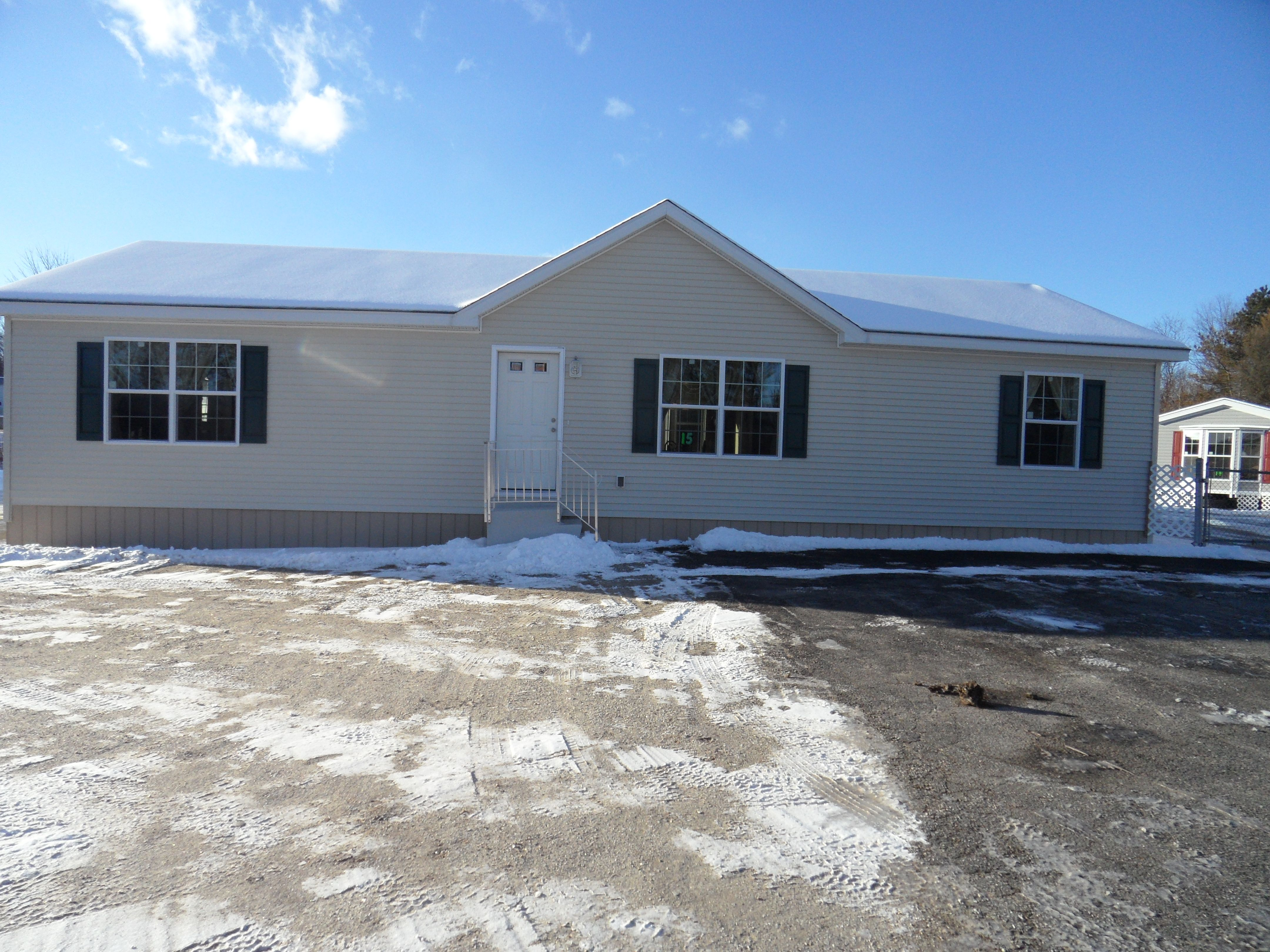 3 Bedroom New Era R103 Modular Ranch Home For Sale at