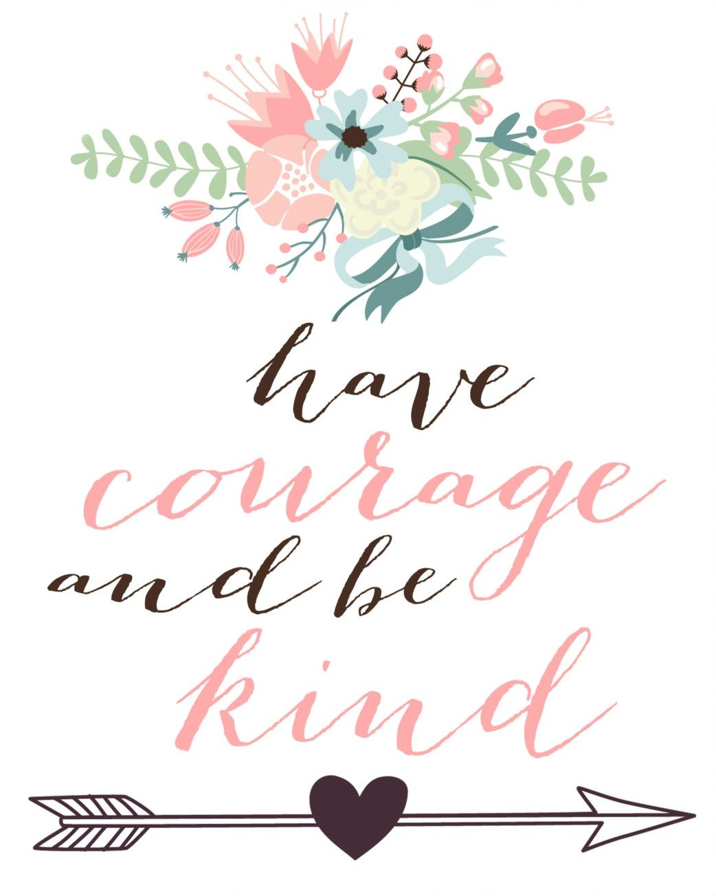 picture relating to Have Courage and Be Kind Printable identify Comprise braveness and be style. Cinderella estimate, absolutely free printable