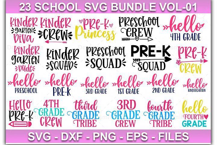 School Svg Bundle Teacher Squad Svg 100 Days Of School In 2020 Svg Design Svg Vinyl Decal Paper