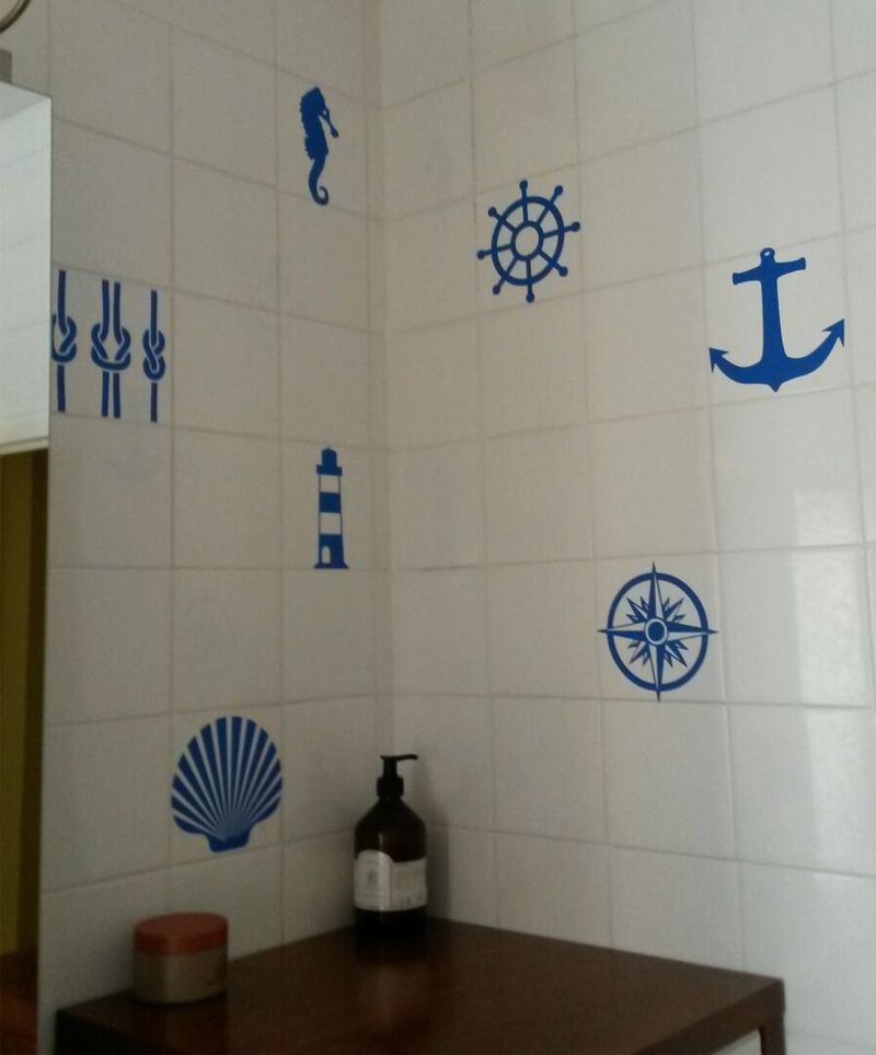 Azulejos Marineros Vinilos Pinterest Living Room Room Y Ideas