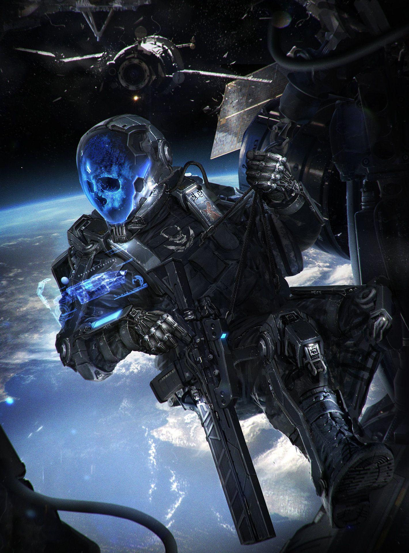 Hd wallpaper sci fi soldier helmet