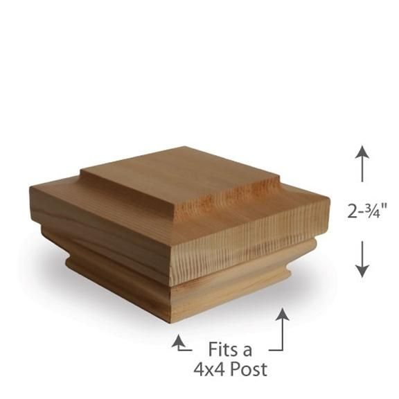 Best Hatteras Post Cap — 4X4 Porch Columns Porch Posts Finials 640 x 480