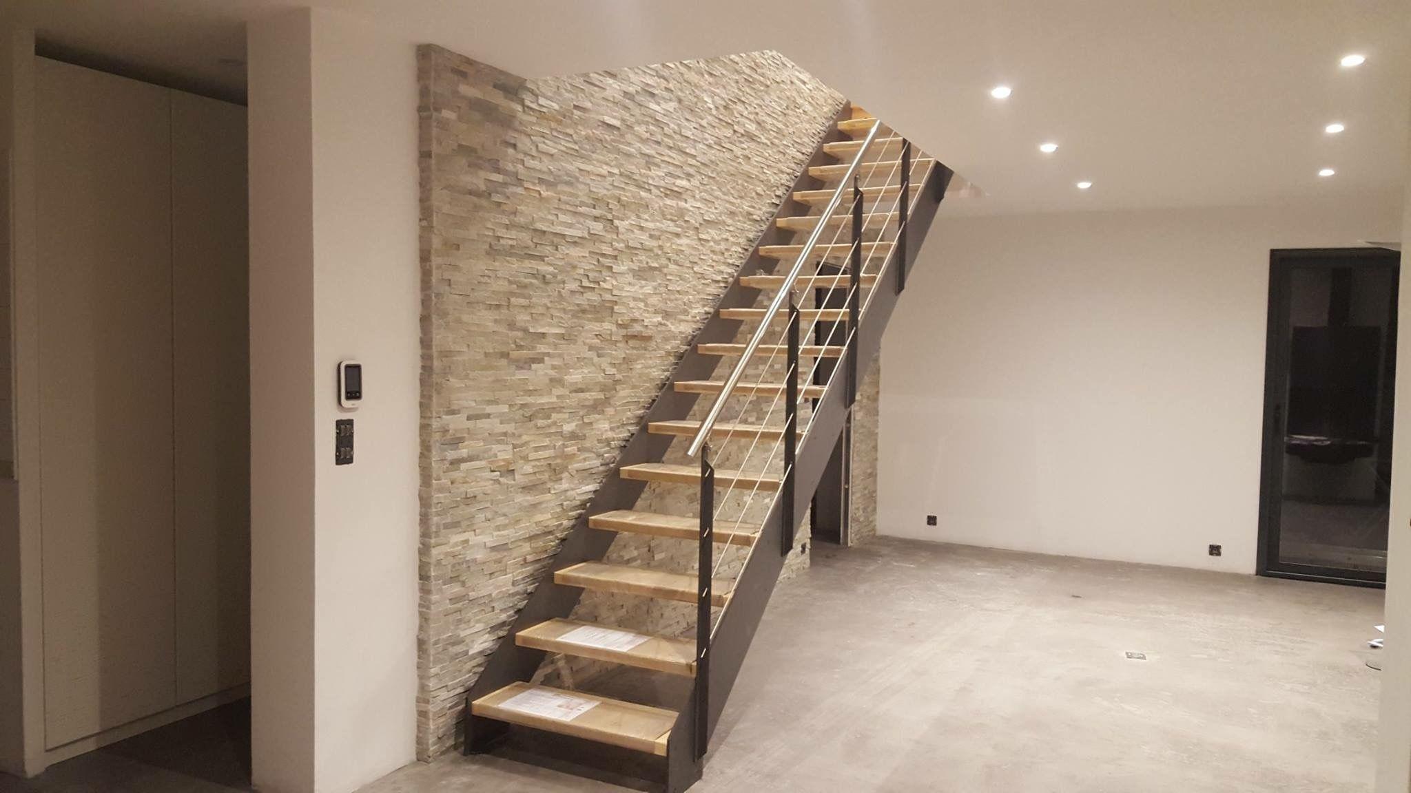 Treppen architektur design  LOFT vor Natursteinwand direkt vom Hersteller Unnerstall Treppen ...