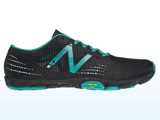Women's Minimus Zero Trail shoe If you don't like 5 fingers this is the best alternative. This shoes has a zero toe to heel drop creating the most NATURAL run and some SEXY calf muscles   Yes you can fold these up and put them in your purse or pocket
