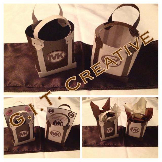 f5e508e1e2d1ef G.I.T. Creative Event Planning, LLC: Michael Kors Inspired Favor Bags
