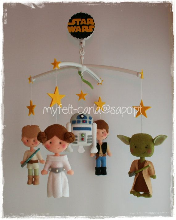 Baby Mobile Star Wars Nursery By Myfelt