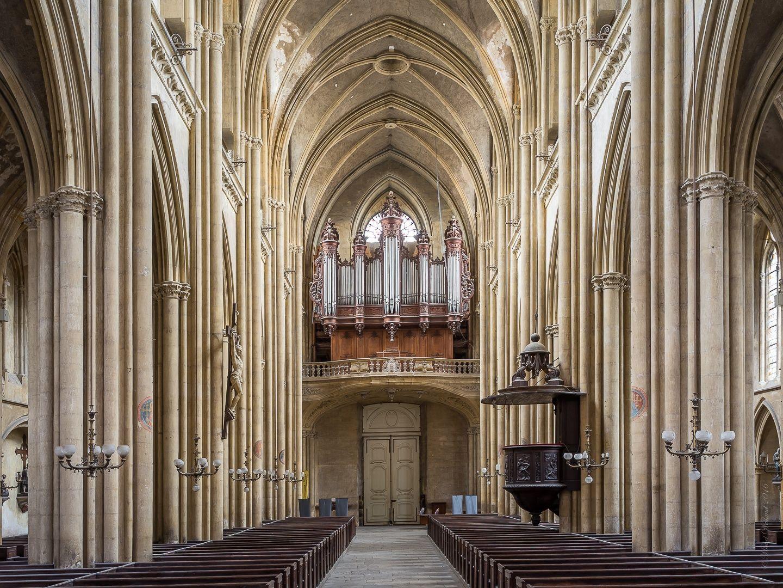 Basilique Saint-Vincent  Metz  Organ  City and architecture photo by janicolasw http://rarme.com/?F9gZi