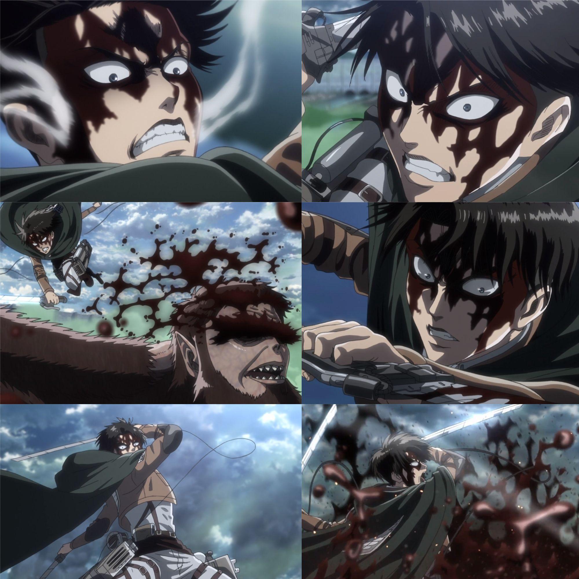 Levi Vs Beast Titan Attack On Titan Shingeki No Kyojin Season 3 Episode 17 Snk Shingek Attack On Titan Season Attack On Titan Art Attack On Titan Levi