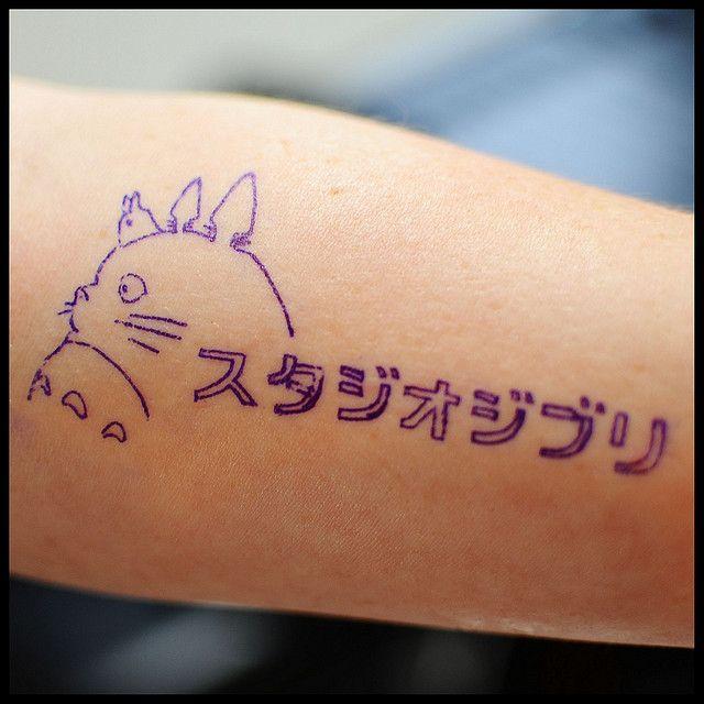 Studio Ghibli tattoo :) this is awesome