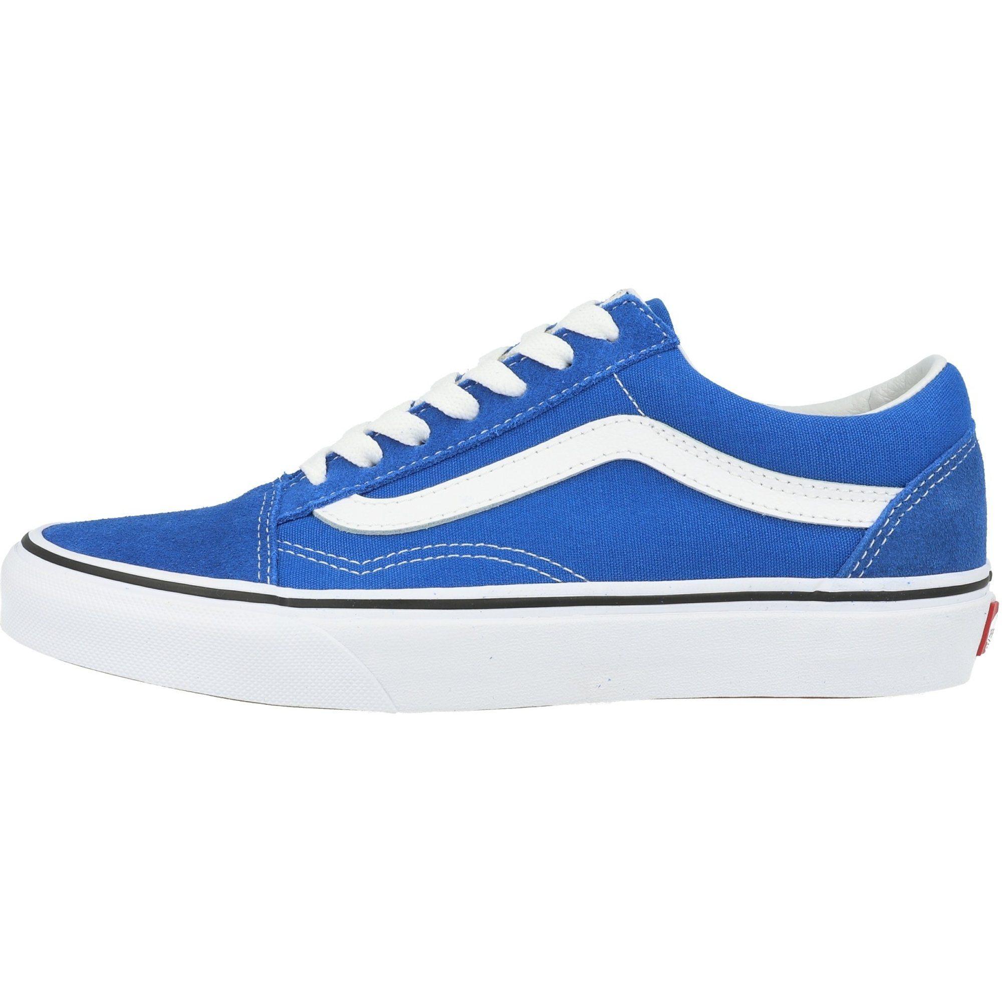 zapatillas vans en azul