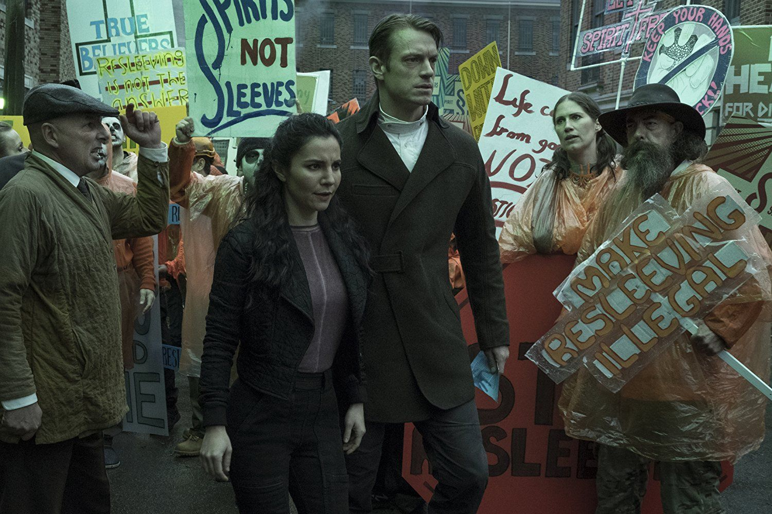 Altered Carbon Series Trailers Featurettes Images And Posters