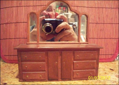 Miniature Furniture For A Small Scale House or Dollhouse