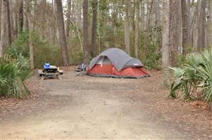 Camping At Myrtle Beach State Park Campground