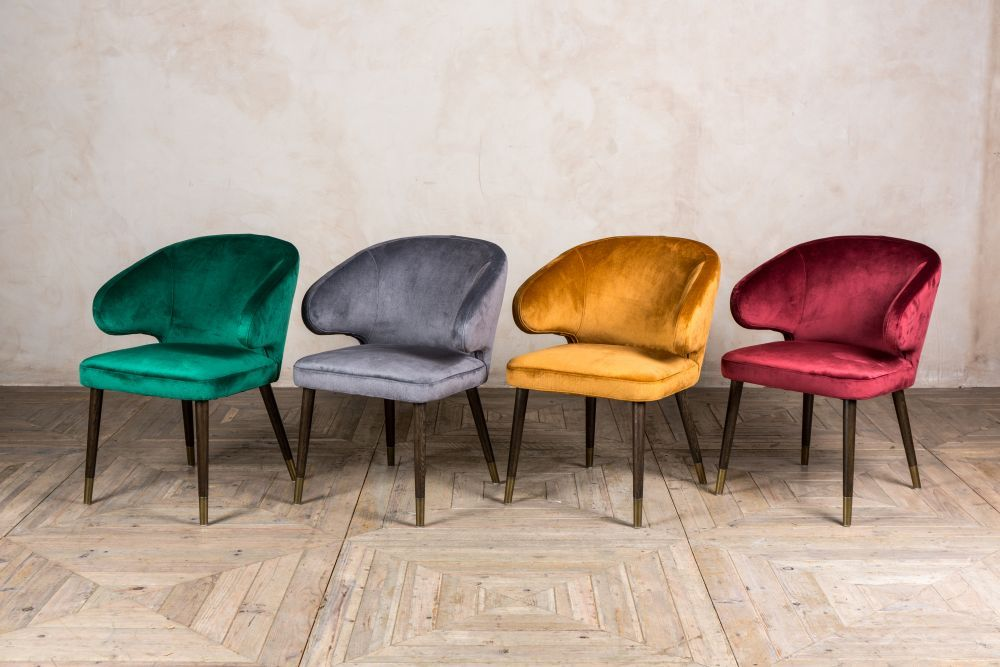 Lorient Retro Style Dining Chairs Retro Dining Chairs Mid