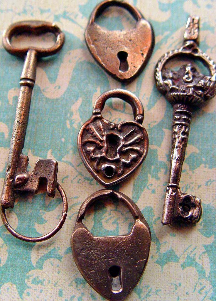 Lock And Key Fantastic Home Vintage Keys Skeleton Key Lock Old Keys