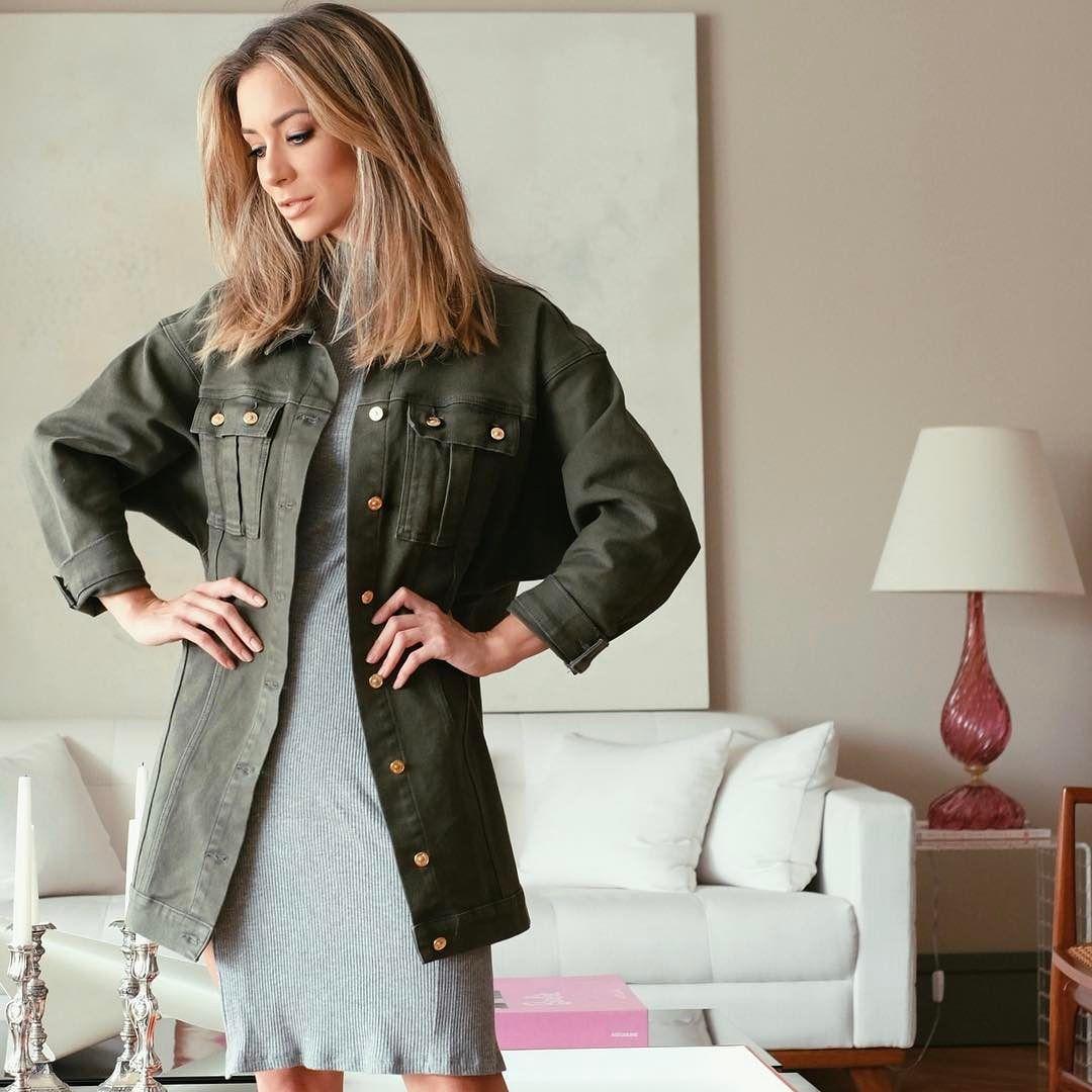 A closer look! Amei essa modelagem da jaqueta! @dicollanioficial