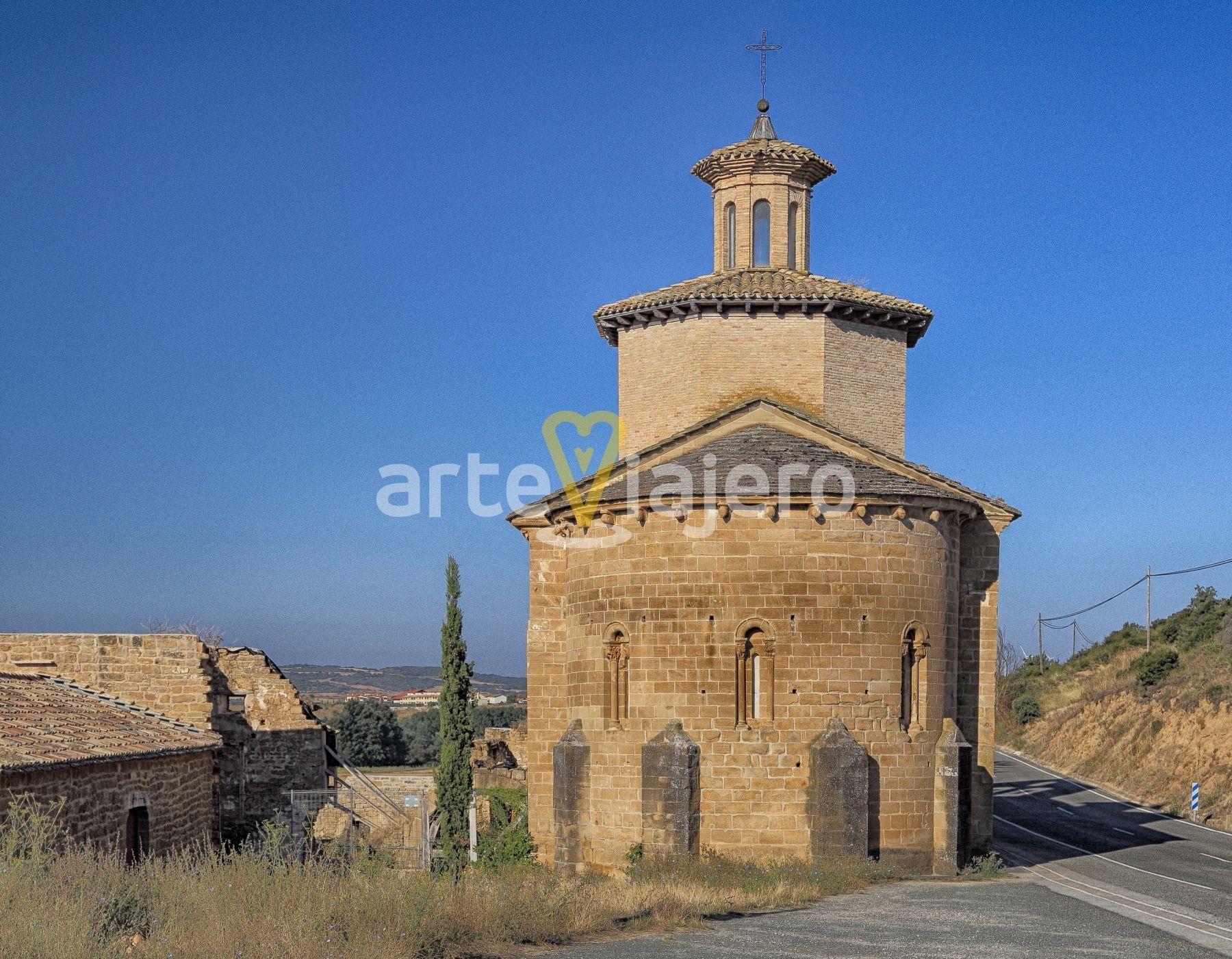 Ermita Románica Del Cristo De Cataláin Comarca De La Valdorba Navarra Navarra Valdorba Romanico Medieval Romanesque Ca Ermita Iglesia Románica Iglesia