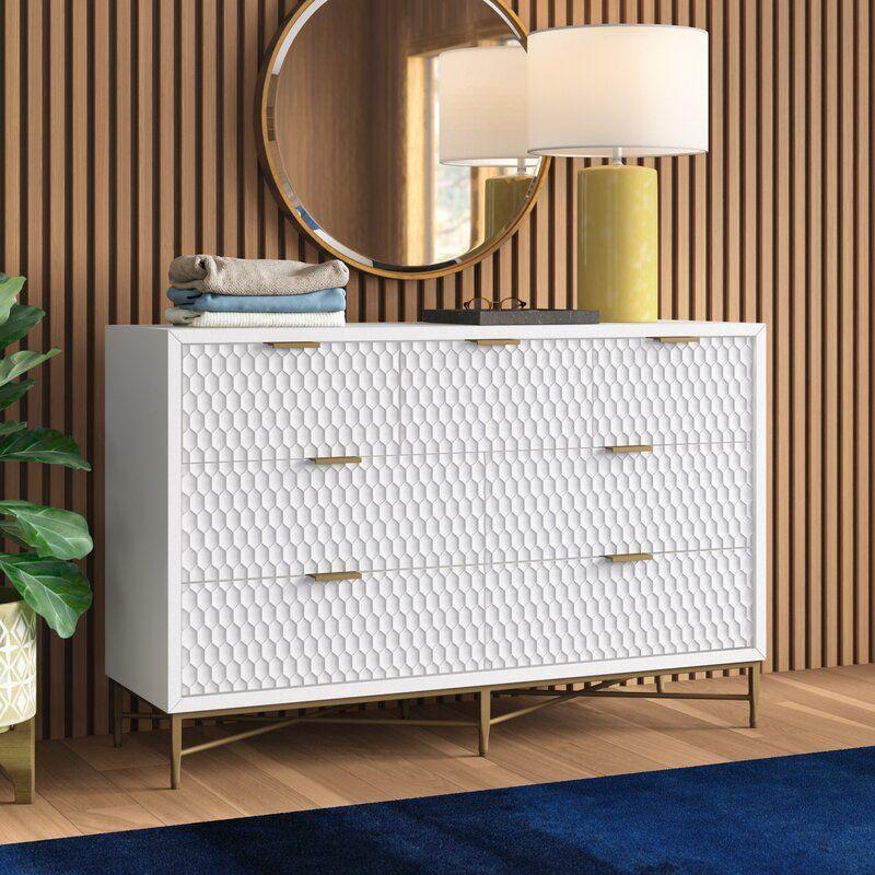 Lylah 7 Drawer Double Dresser Dressers For Sale Double Dresser Classy Dresser
