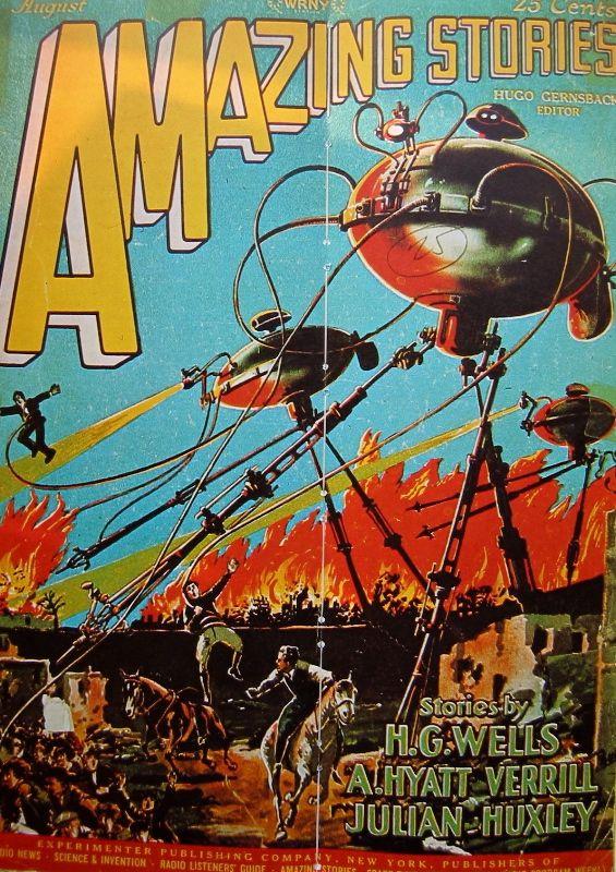 pulp science fiction art