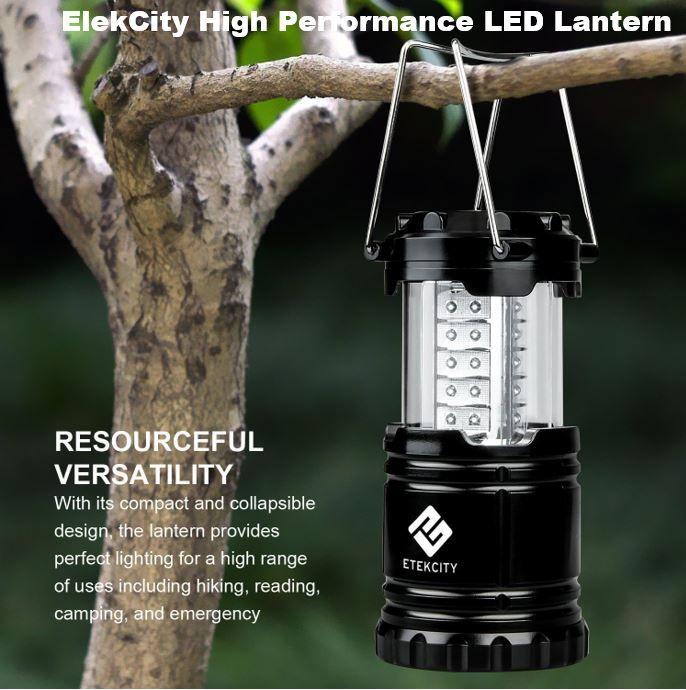 Elekcity Ultra Bright Led Lantern Led Camping Lantern Best Camping Lantern Led Lantern