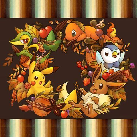 Pokemon Thanksgiving Pokemon Anime Halloween Cute Pokemon Pictures