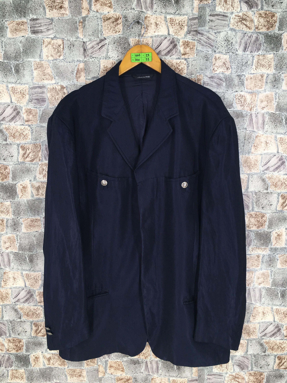96e92b83 #clothing #jacket #commedesjacket #mensversacecouture #versaceblazers  #versacejacket #vintageversace #versacemedusacoats #isseymiyakecoats