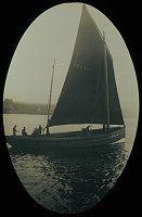 Zulu fishing boat setting out