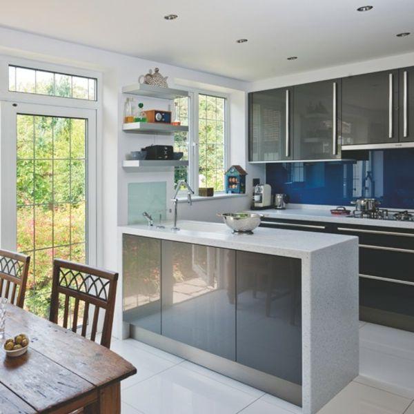 Kücheneinrichtung \u2013 Geschmackvolle Einrichtungsideen für die Küche - Moderne Tische Fur Wohnzimmer