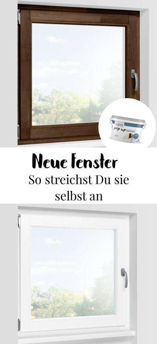 Anleitung zum Fenster streichen   #schönerwohnen