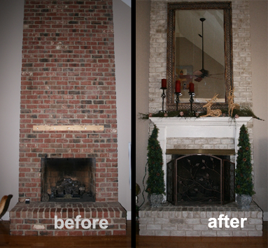 Know Anything About Remodeling A Painted Brick Fireplace Brick