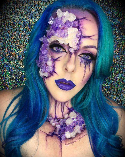 15 Awesome Last-Minute Halloween Face Paint Ideas Funny pictures - best halloween face painting ideas