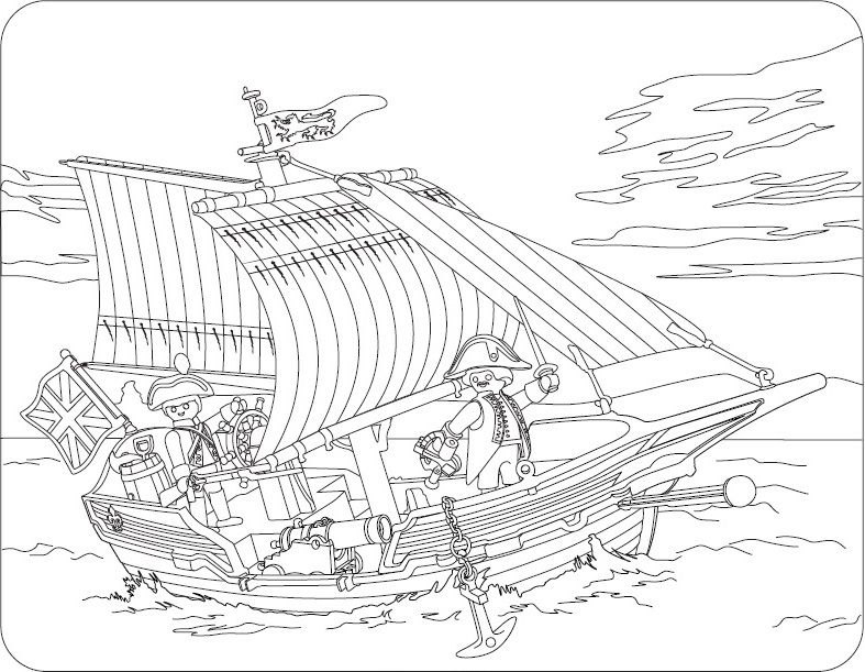Coloriages Coloring Sheet Playmobil Playmobil Ausmalbilder