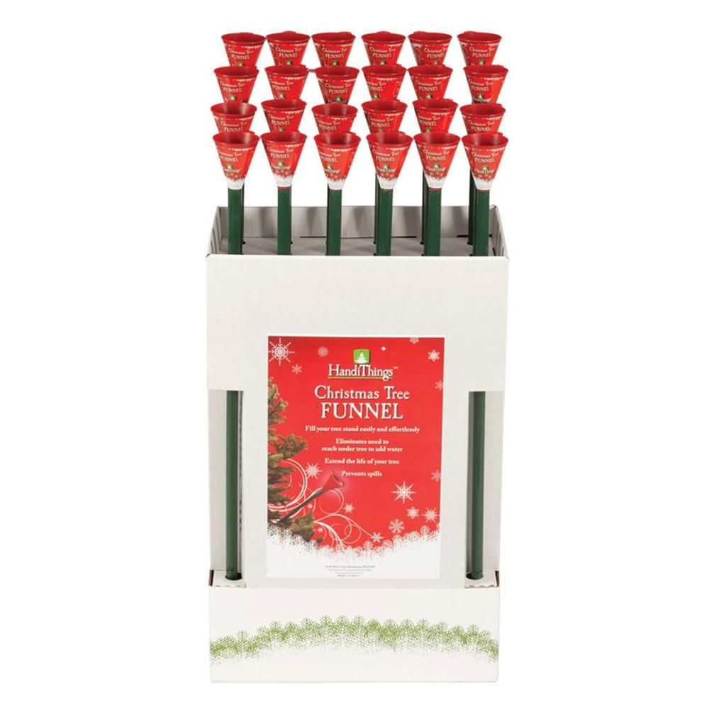 Christmas Tree Funnel Ht300 24 The Home Depot Hand Christmas Tree Christmas Tree Christmas