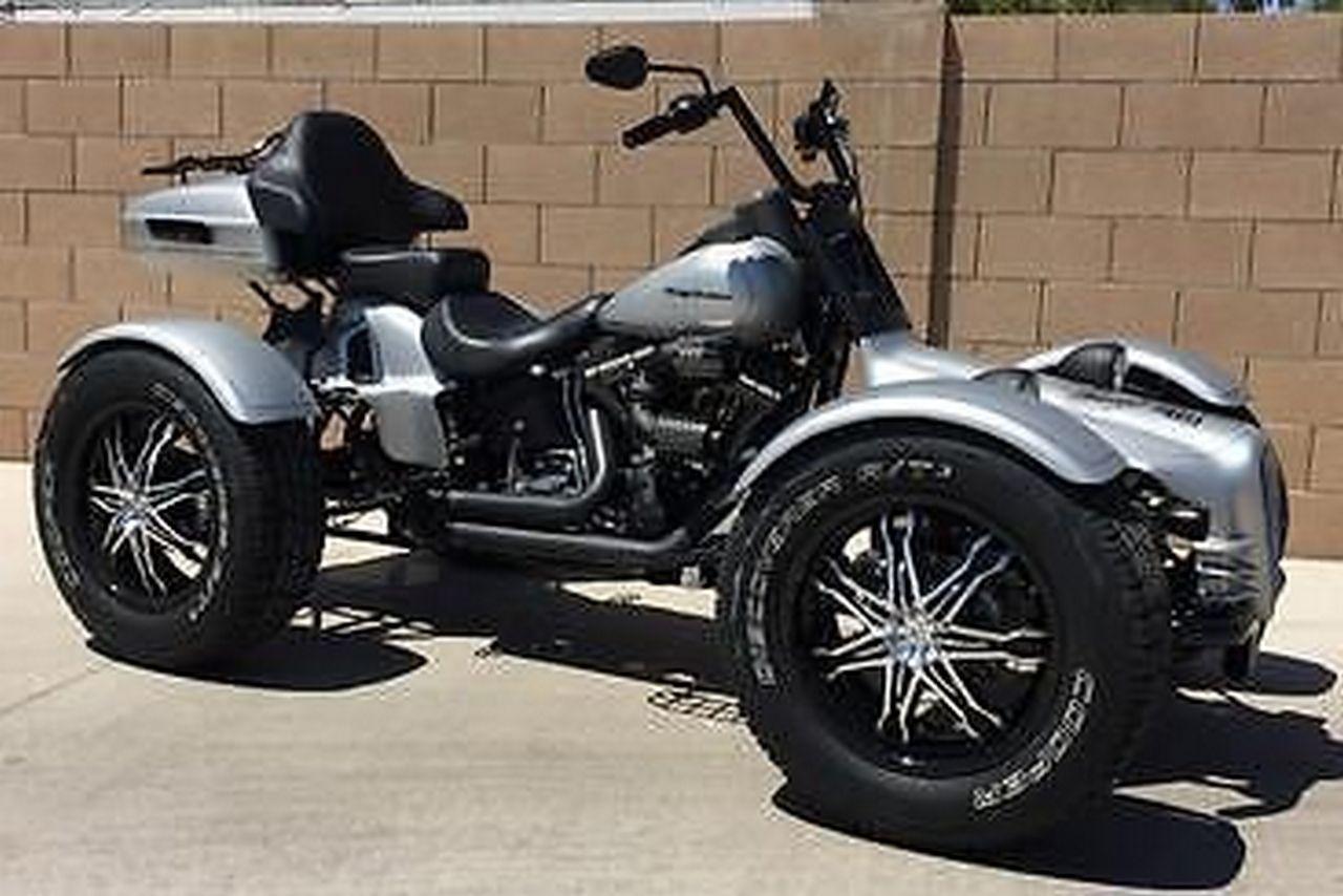 Harley Q Tec Reverse Trike Conversion Motor Cycles Reverse Trike