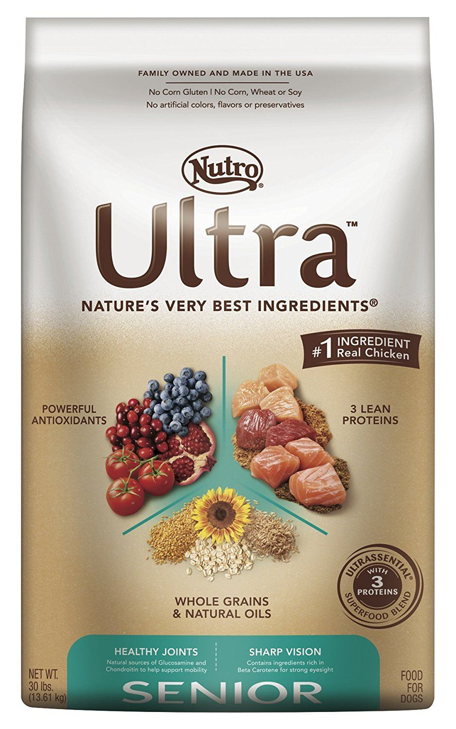 Nutro Ultra Senior Dry Dog Food Trust Me This Is Great Click