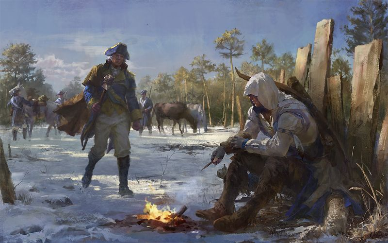 Before the days of King by luulala - Assassin's Creed 3