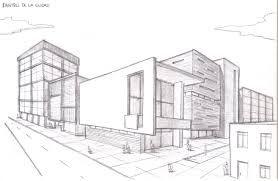 Perspectiva Punto De Fuga Edificios Perspectiva Arte En Perspectiva