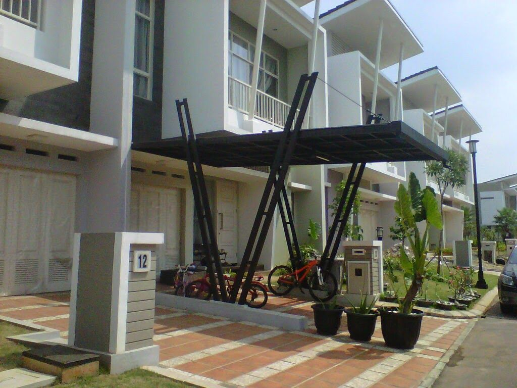 38 Images Of A Minimalist Home Canopy Model Rumah Minimalis