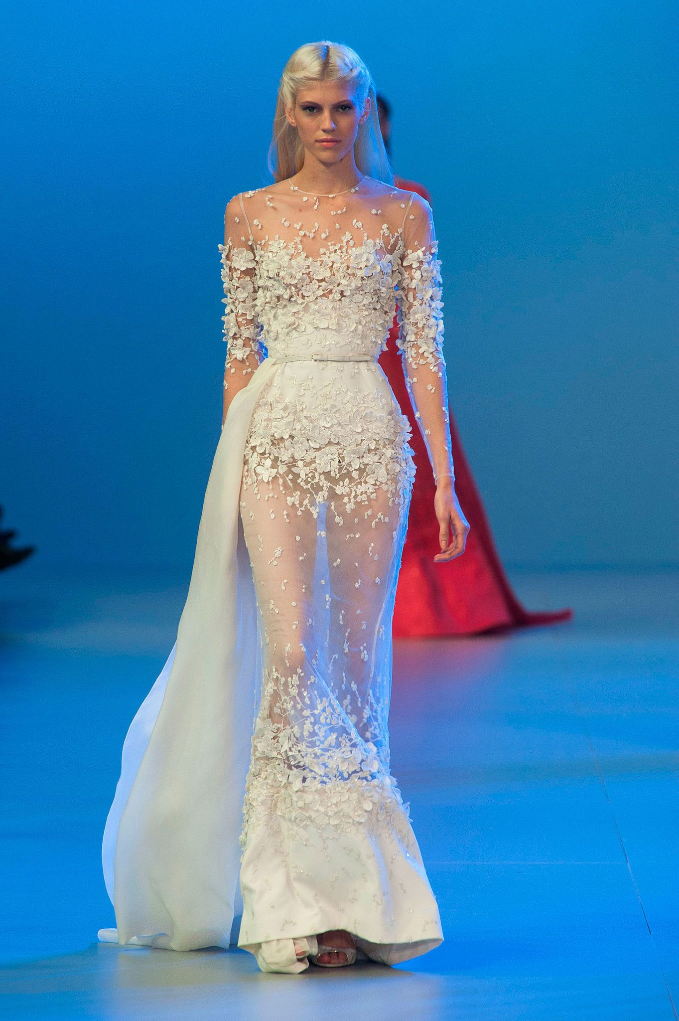 Elie Saab Haute Couture Spring 2014   Elie saab, Alto y Primavera
