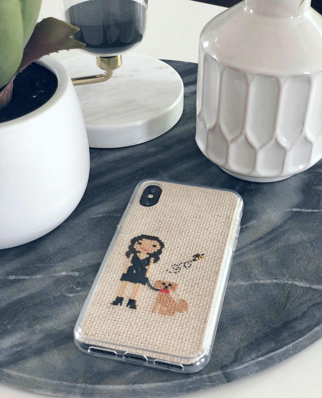 Stitch People Phone Case Tutorial – Stich Menschen Blog  – DIY