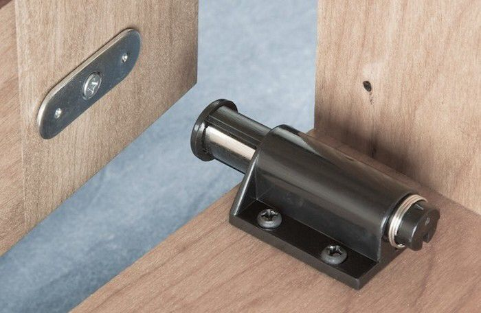 Push Touch Hardware For Cabinet Doors Opens Up So Many Design Options Latches Hardware Barn Door Hardware Doors