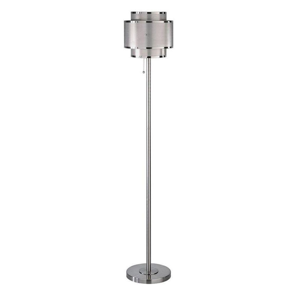 Illumine Designer Collection 59 In Steel Floor Lamp