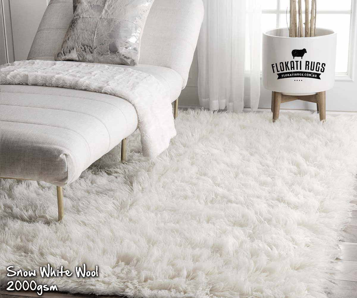 Flokati Wool Rugs Handmade In Greece 100 New Zealand Wool Ultra Plush Rugs Ivory White 2000gsm Rugs Wool Shag Rug Plush Rug
