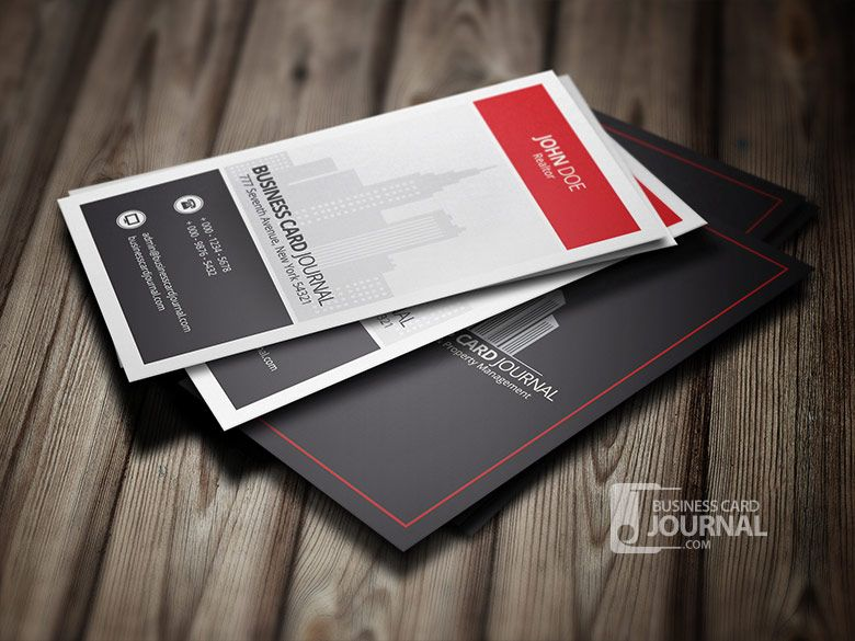 Free modern stylish real estate business card template business free modern stylish real estate business card template business card journal colourmoves Gallery